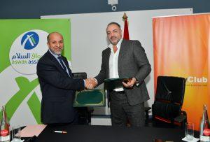 Jonathan Harroch City Club et Abdelkrim Tassine Aswak Assalam