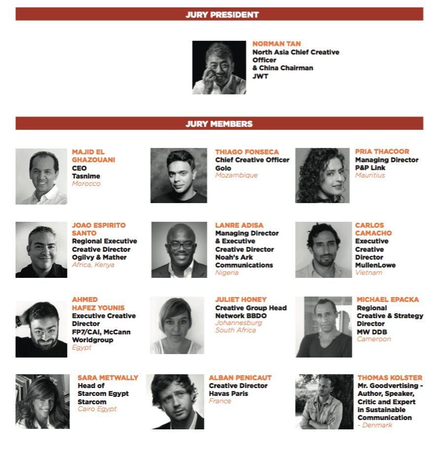 Jury African Cristal Festival