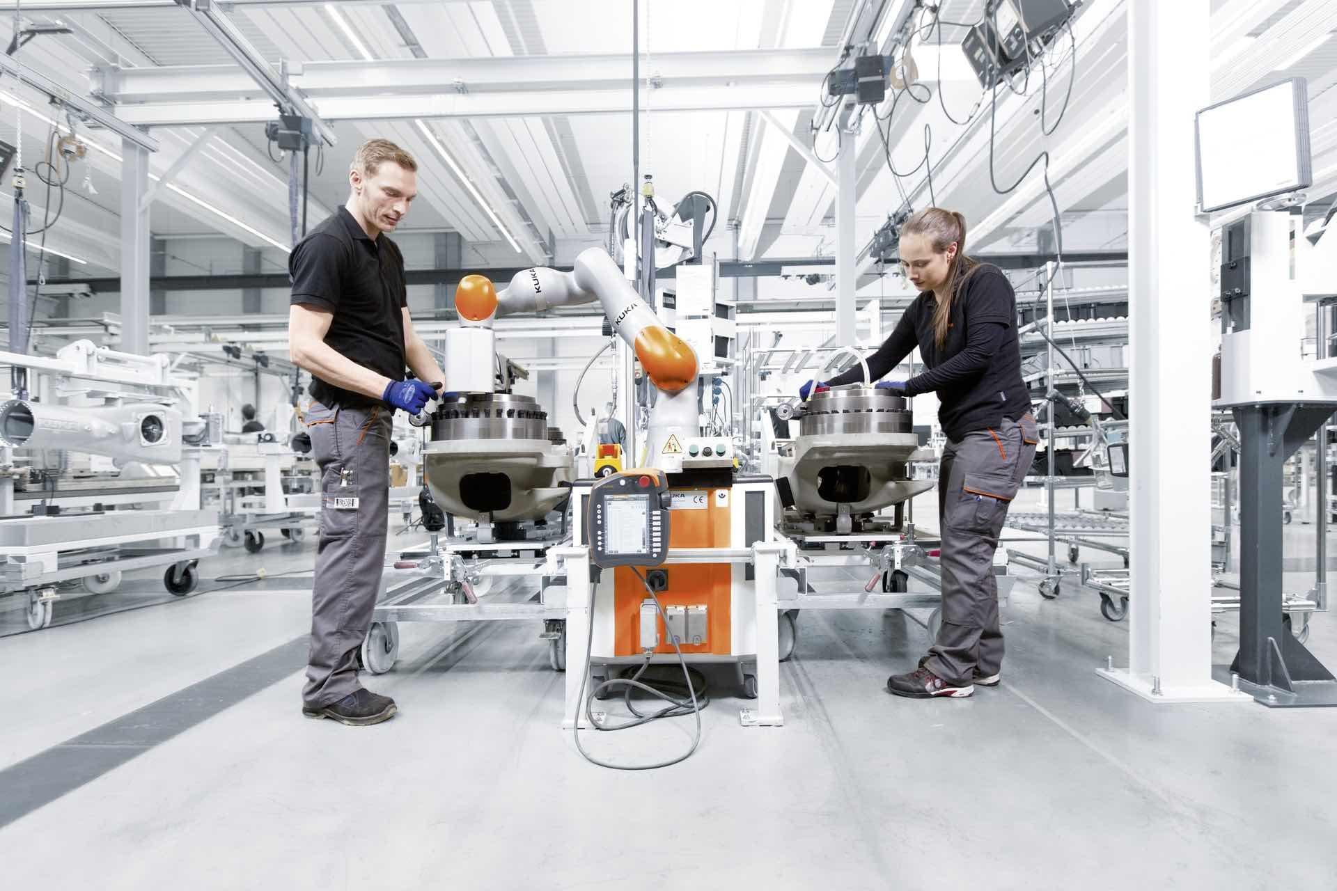 KUKA Industry 40 Cobot