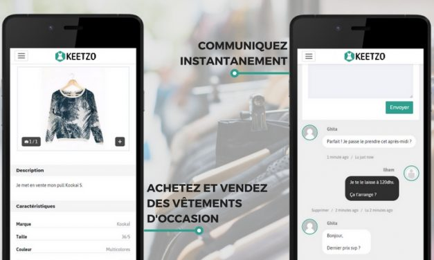 Lancement de Keetzo.ma, réseau social du vide-dressing au Maroc