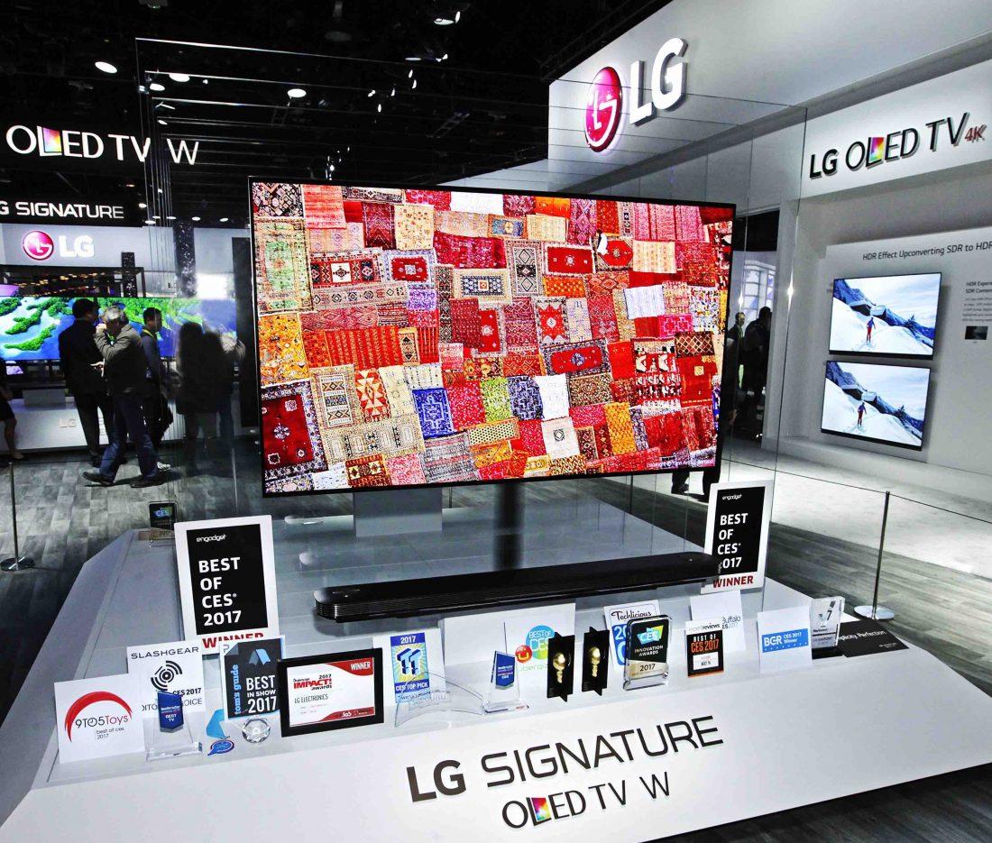 CES2017 : LG remporte plus de 90 prix