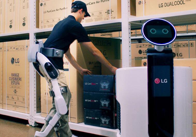 LG améliore ses robots de service intelligents