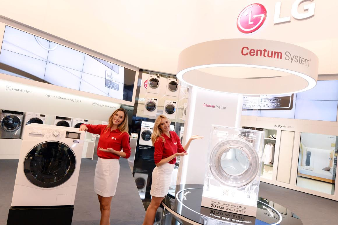 LG annonce officiellement l'innovation Centum System