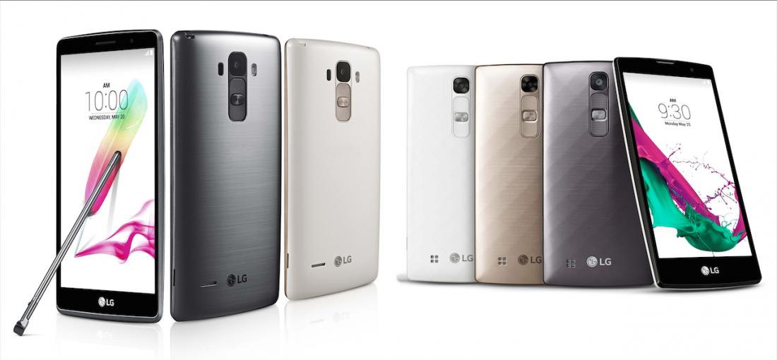Smartphone : Lancement des LG G4 STYLUS ET LG G4c