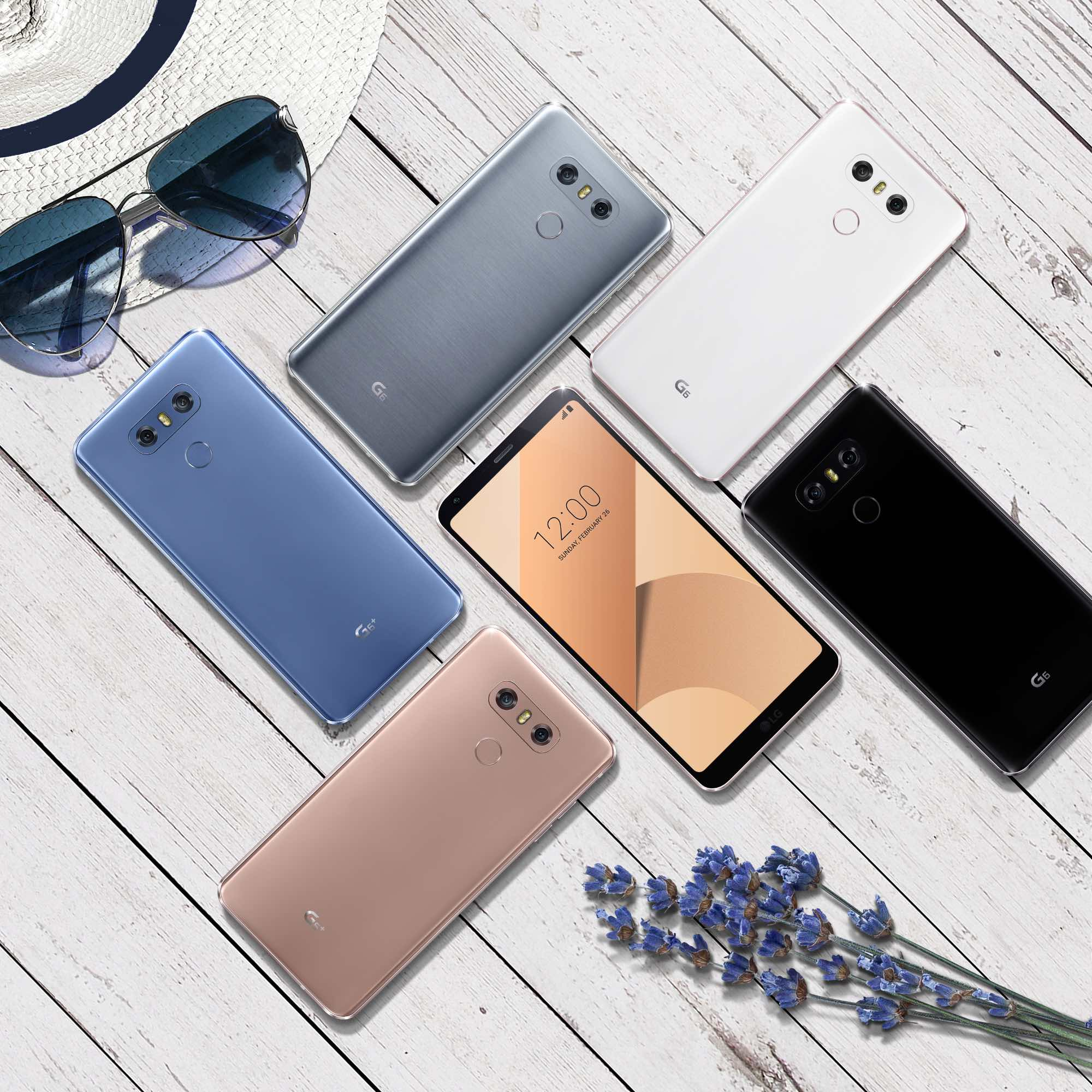 Nouvelles fonctionnalités sur le LG G6 et le LG G6+