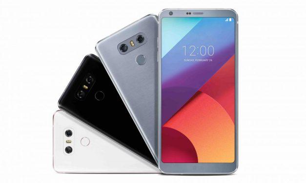 Lancement du dernier LG G6