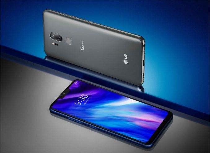 LG dévoile son dernier smartphone, le G7 ThinQ