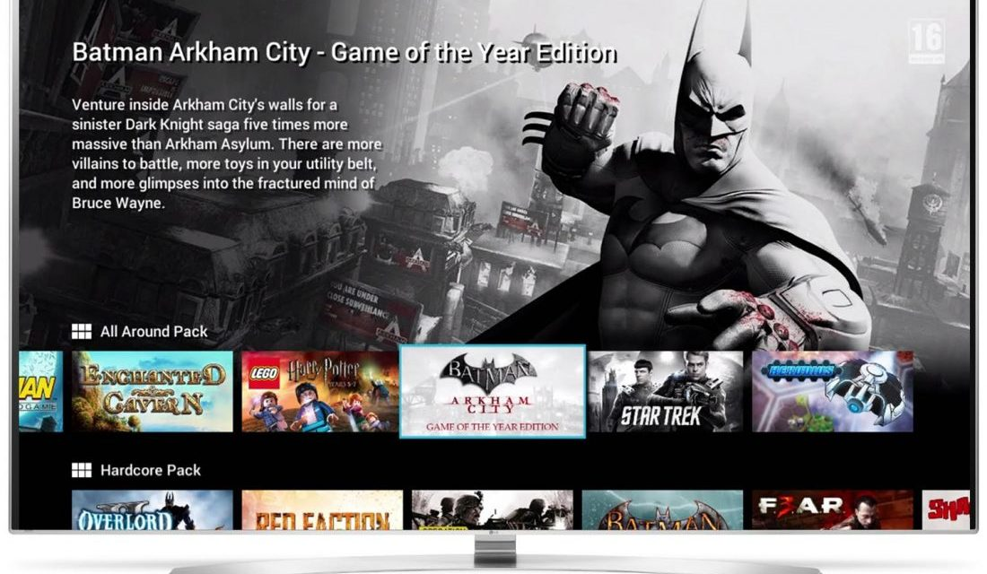 Smart TV : Partenariat entre LG et Gamefly