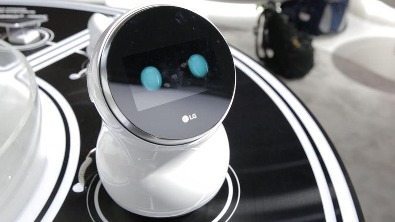 IoT : LG élargit sa gamme avec de nouveaux robots