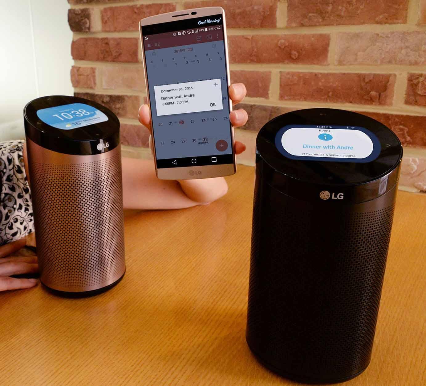 LG promeut l'écosystème de la maison intelligente avec la station SmartThinQ