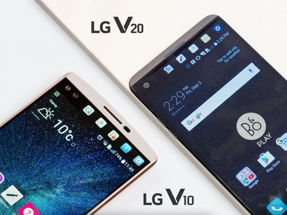 LG : Lancement des V-Series