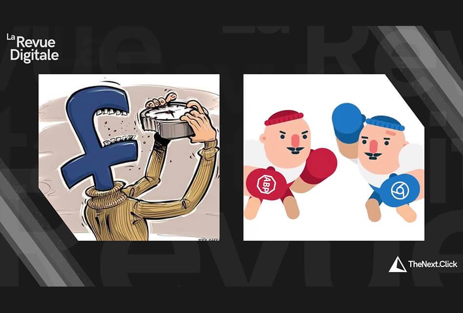 Facebook, Github, WhatsApp & Google