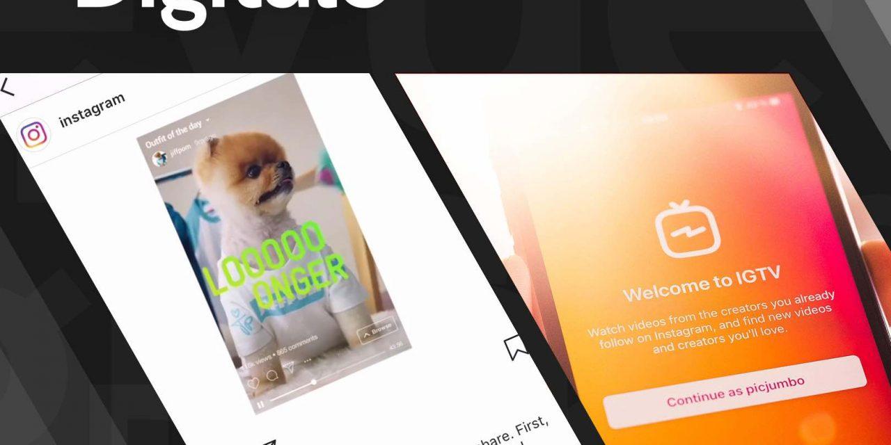 IGTV, l'application dédiée à la vidéo, 100% verticale