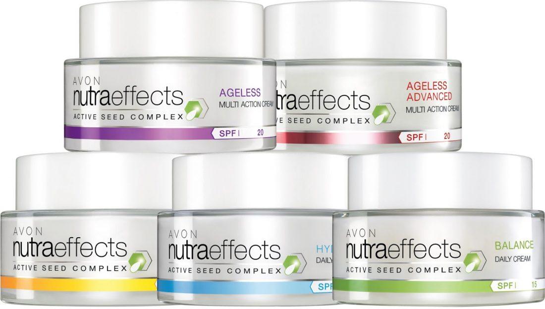 Avon lance la gamme Nutra Effects