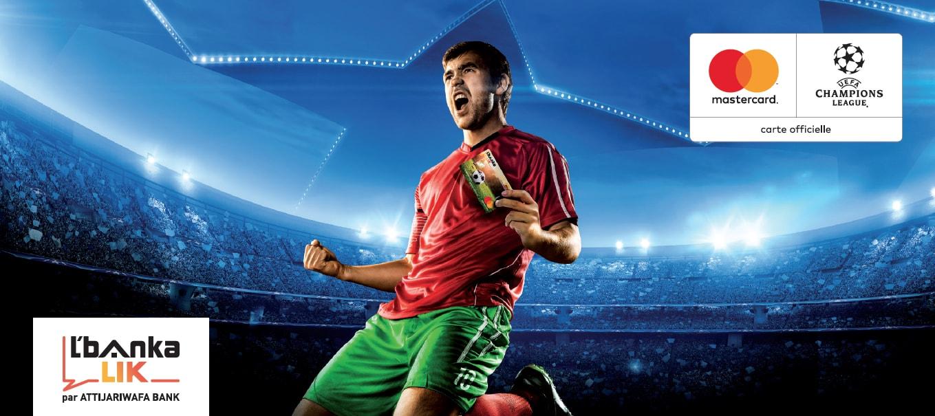 UEFA Champions League : Partenariat entre L'bankalik et Mastercard