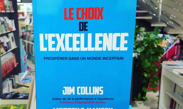Le choix de l'excellence, prospérer dans un monde incertain