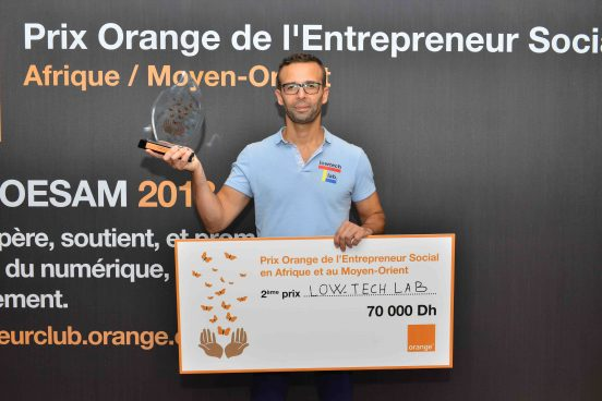 Low Tech Lab Prix Orange Entrepreneur Social Maroc