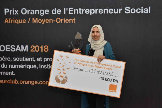M4Nature Prix Orange Entrepreneur Social Maroc