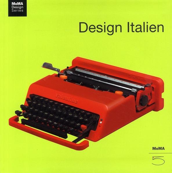 MoMA Design Series : Design Italien