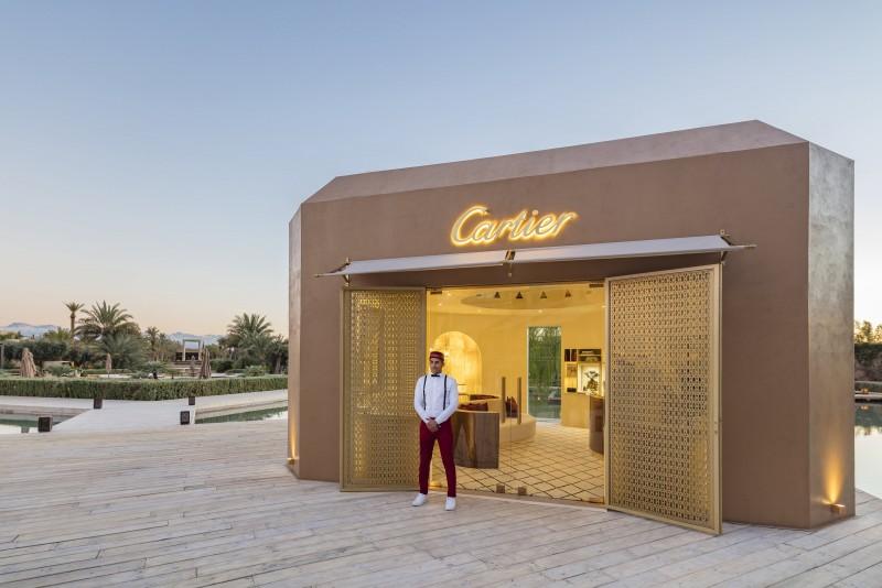Maison Cartier ouvre une boutique éphémère à Marrakech
