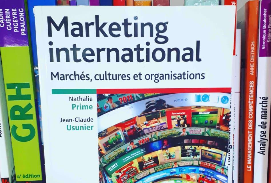 Marketing international – Marchés, cultures et organisations