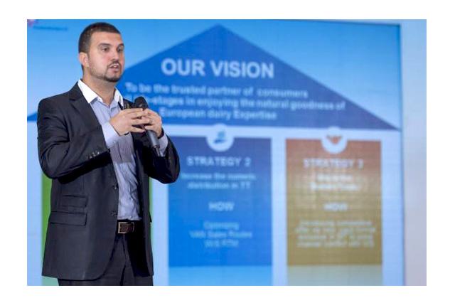 Mouhcine Lebbar, Marketing Manager, FrieslandCampina Middle East