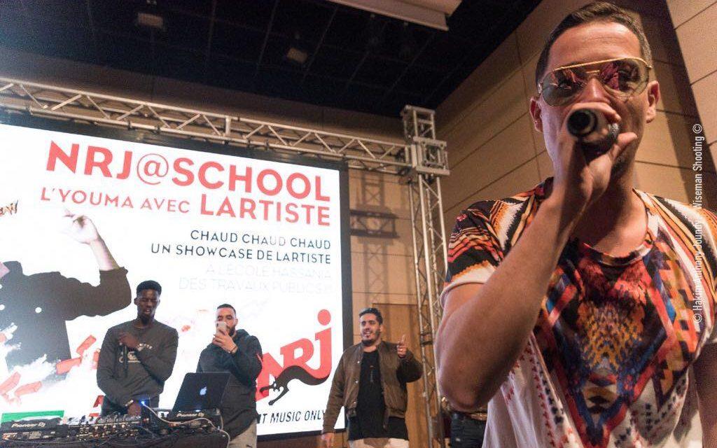 NRJ@School offre un concert privé de Lartiste