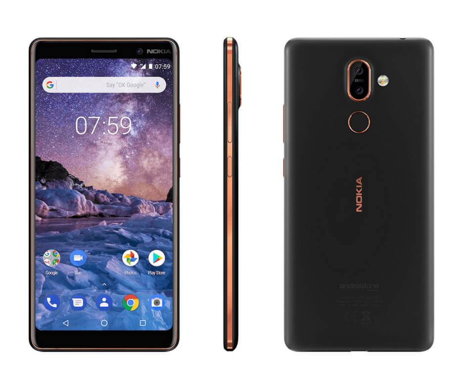 Nokia 7 Plus 3 Views