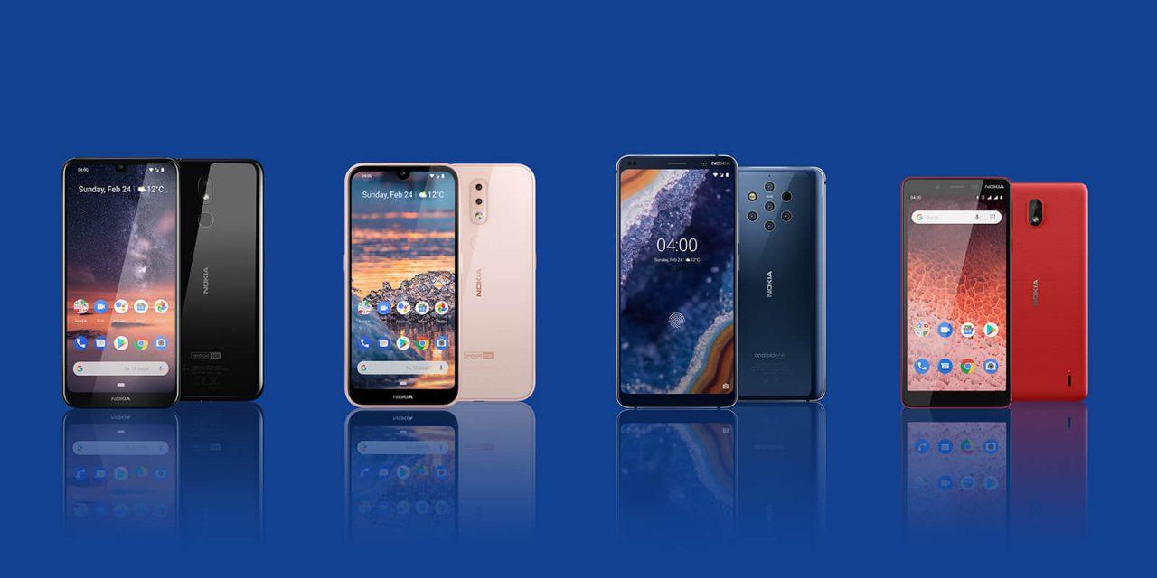 Nokia : Lancement de quatre nouveaux smartphones