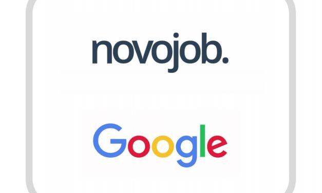 Novojob signe un partenariat avec Google