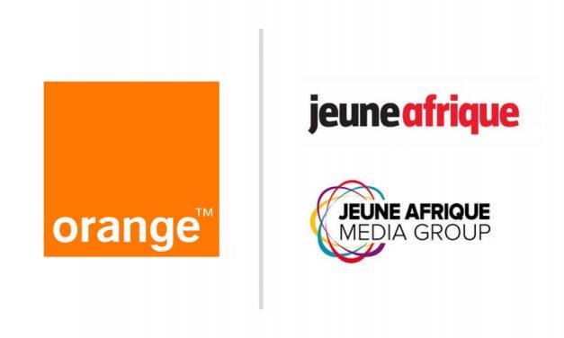 Contenu : Jeune Afrique en exclusivité sur les mobiles Orange en Afrique