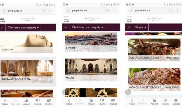 Palmeraie Resorts lance son application de conciergerie mobile