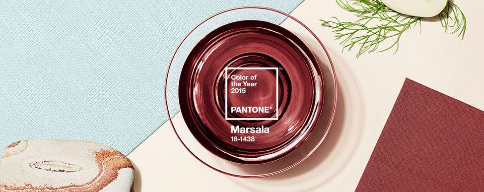 #Design #Pantone : Marsala désignée couleur de l'année 2015