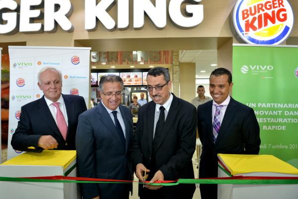 Vivo Energy Maroc scelle un partenariat avec Burger King