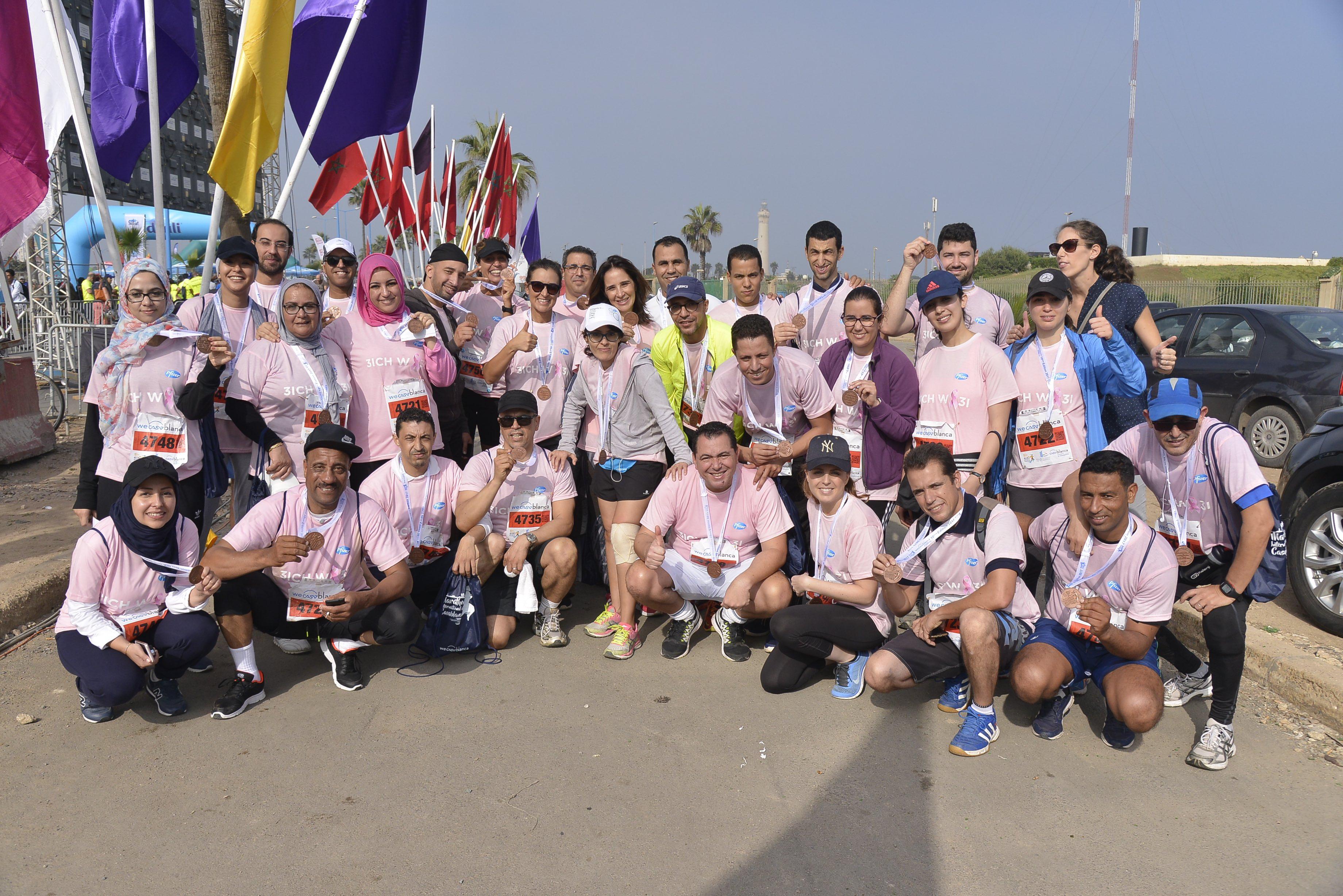 RSE : Mobilisation des collaborateurs de Pfizer Maroc contre le cancer du sein
