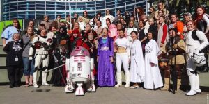Celebration Anaheim star wars community marketing content