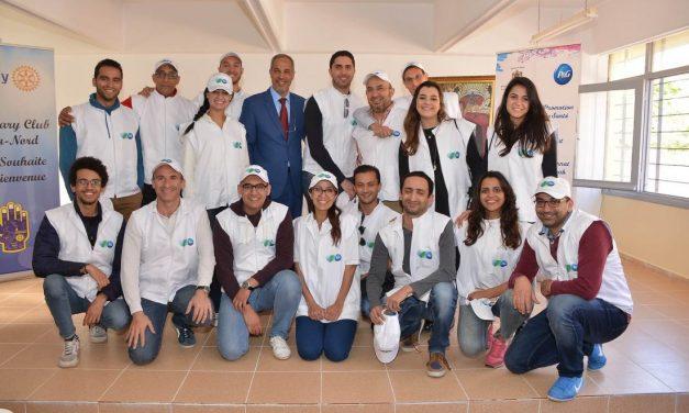 #RSE : Procter & Gamble réhabilite le nouvel internat du lycée Ouadi Eddahab à Kénitra