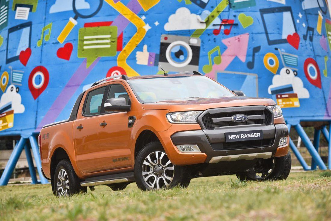 Ford dévoile le nouveau Ranger Pick-up