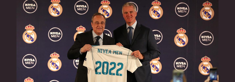NIVEA MEN et Real Madrid prolongent leur partenariat et l'étendent à plus de 70 pays