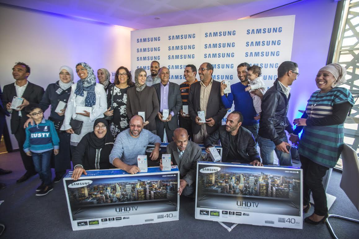 Samsung décerne les prix de la Tombola de l'Aïd el Kebir