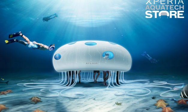 Sony Mobile dévoile un concept-store sous-marin à Dubai : le Xperia Aquatech