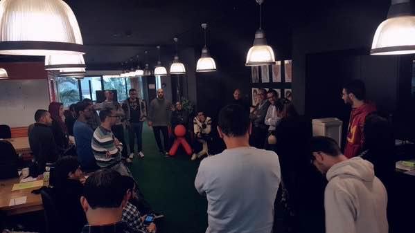 Stand up meeting Avito Maroc