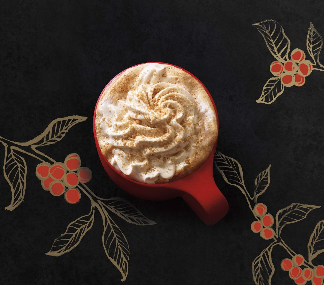 Starbucks inaugure l'hiver avec Toffee Nut Latte