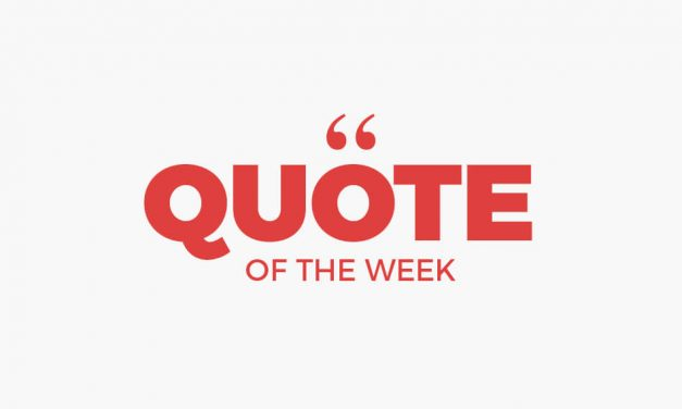 Quote of the week #40