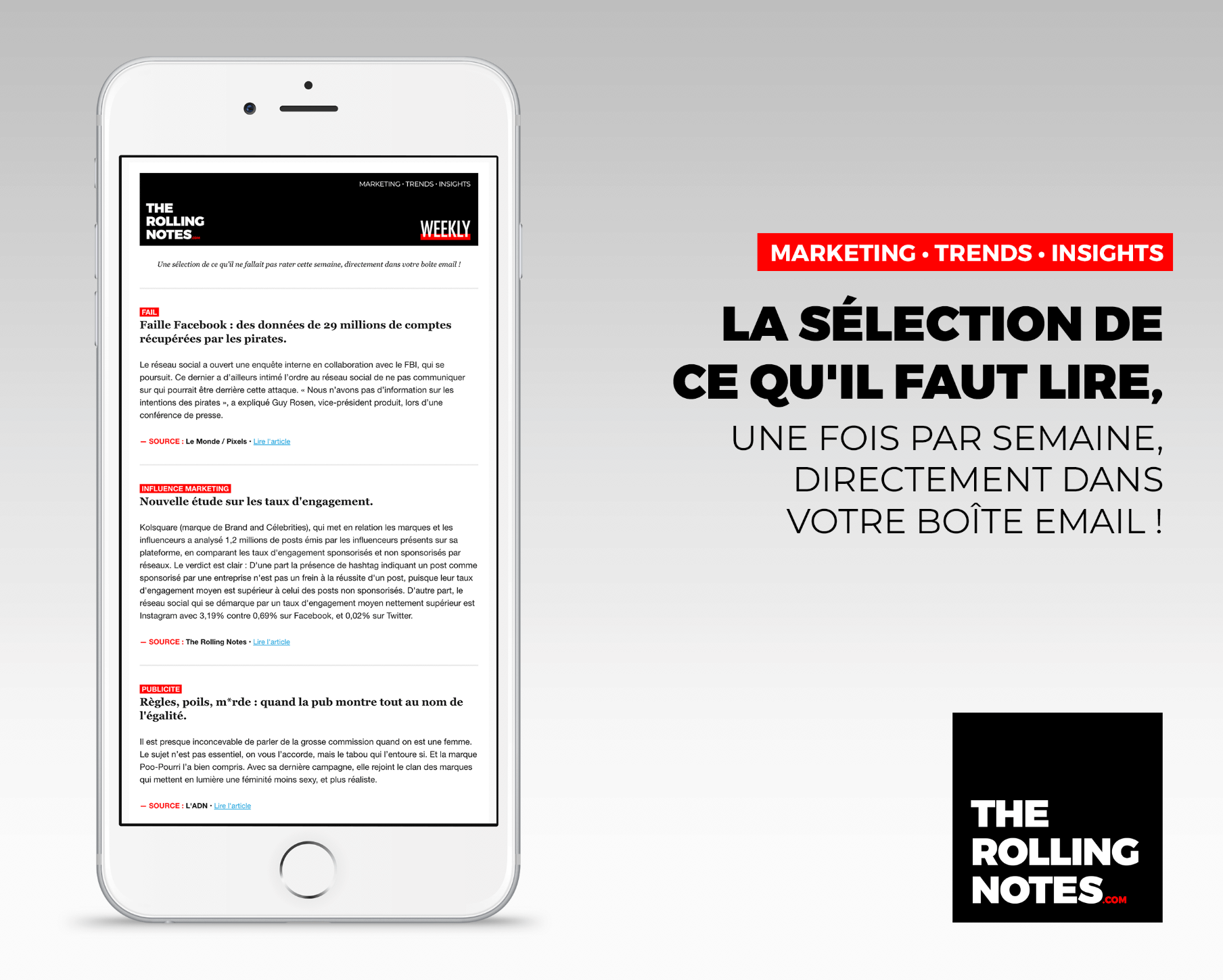 The Rolling Notes WEEKLY N°50