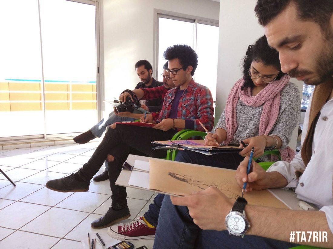 Ta7rir Sketching