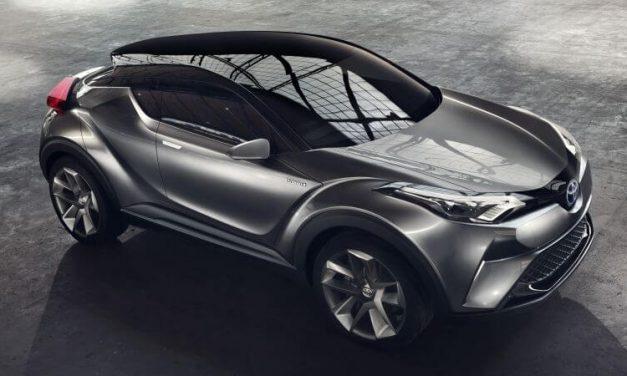 Crossovers : Lancement du Toyota C-HR