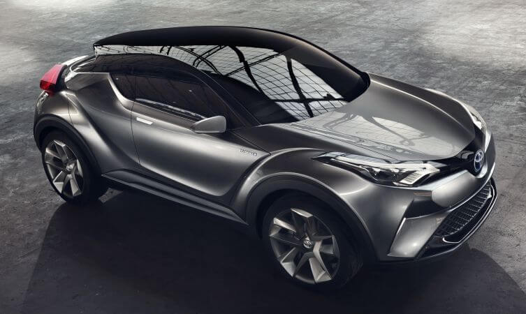 crossovers : lancement du toyota c-hr | the rolling notes