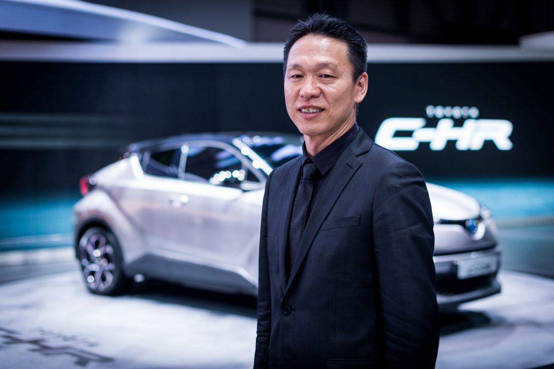 Toyota Hiroyuki Koba CHR