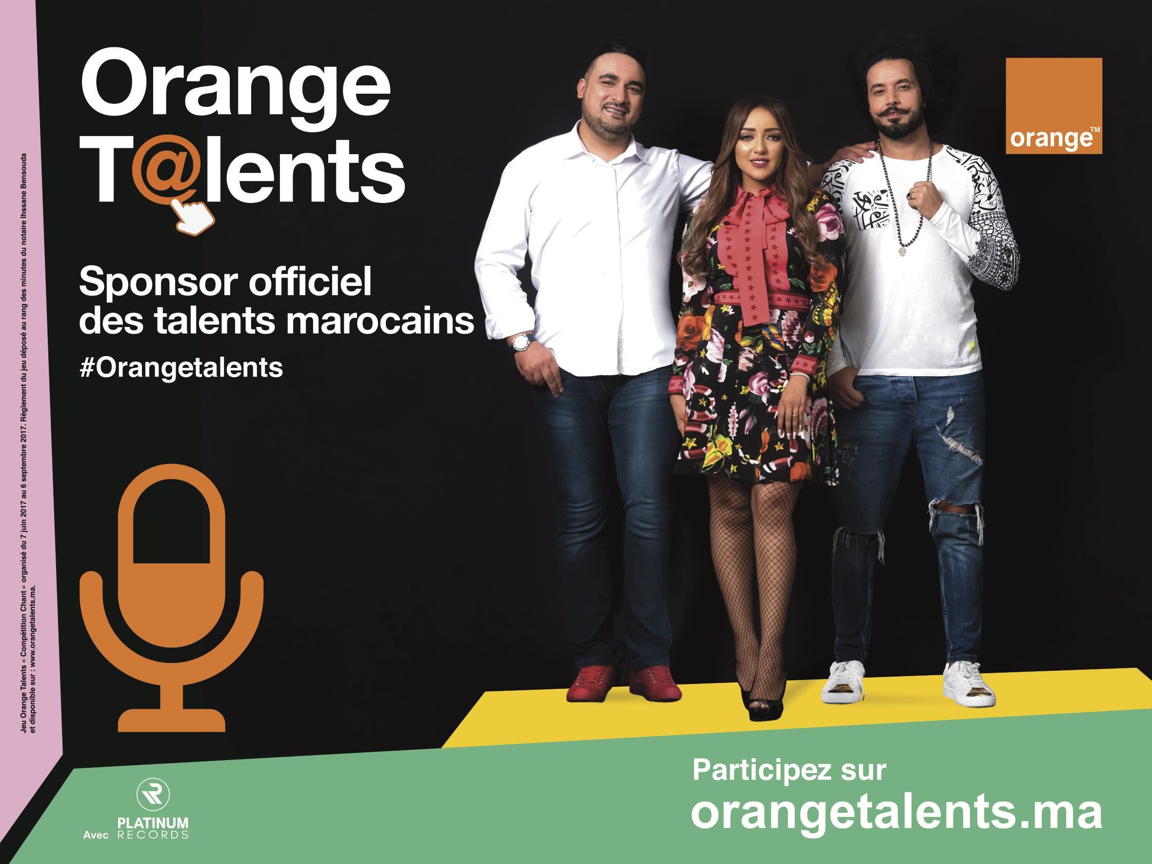 Visuel Orange Talents VF